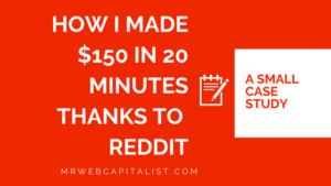 How to make money on Reddit
