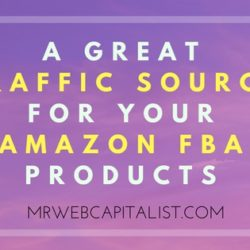FREE Traffic Source for Amazon FBA products