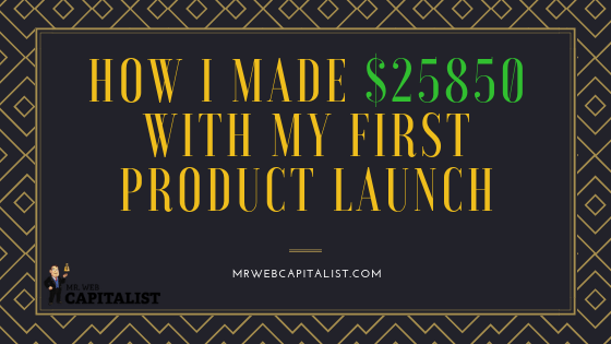 First product launch