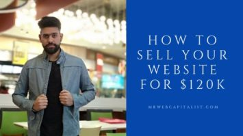 how to sell a website