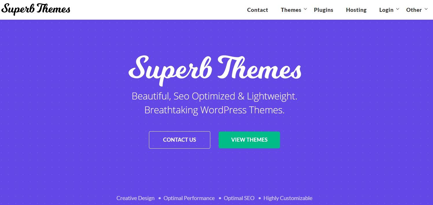 Super Themes Affiliate program