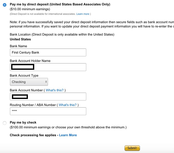 How to apply to Amazon U.S. Affiliate Program