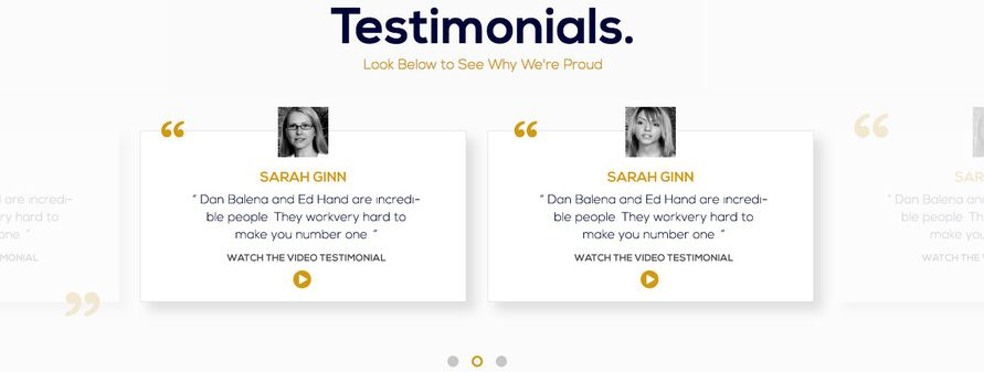 Testimonials - How To Build Your Subscriber List Fast
