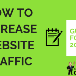 How to Increase Website Traffic in 2019