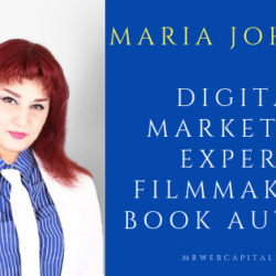 Maria Johnsen: Digital Marketing Expert, Filmmaker & Book Author