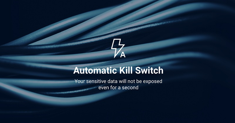 NordVPN automatic kill switch