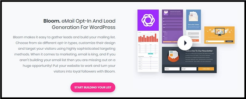 Bloom opt-in plugin. Is Elegant Themes worth it? Detailed Review 2019. Elegant Themes & Divi Builder review