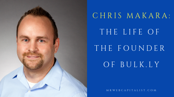 Chris Makara, the founder of Bulkly