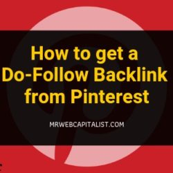 dofollow backlink from pinterest