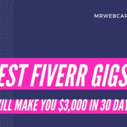 Best Fiverr gigs for earning money