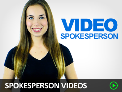 Spokesperson videos - Fiverr services that'll make you the most money