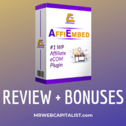 affiembed plugin review 2019 and bonus