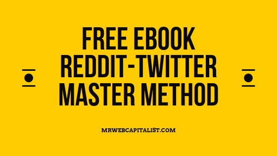 Reddit-Twitter Master Method for free