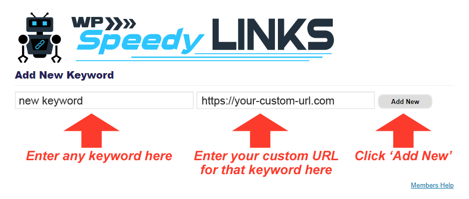 WP Speedy Links plugin review - keyword to affiliate links