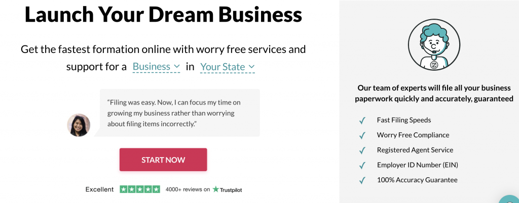 Start, Manage and Grow Your Small Business Today | ZenBusiness PBC